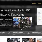 Diseño Web y Seo Taller mecánico FVG