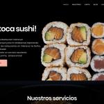 Diseño web y SEO Sushi Restaurant